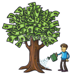 watering-money-tree